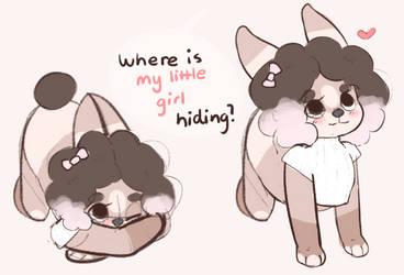 Hiding by littlebink