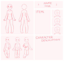 *New* Reference Sheet Closed by littlebink