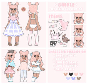 [Reference Sheet] *NEW* Binky (MMD) RS Example