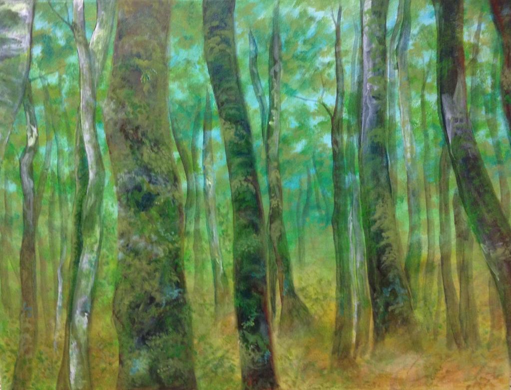 The Beech Trees by Doodemoiidesu