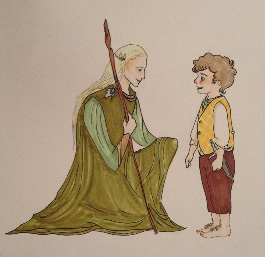 Elf-friend by Doodemoiidesu