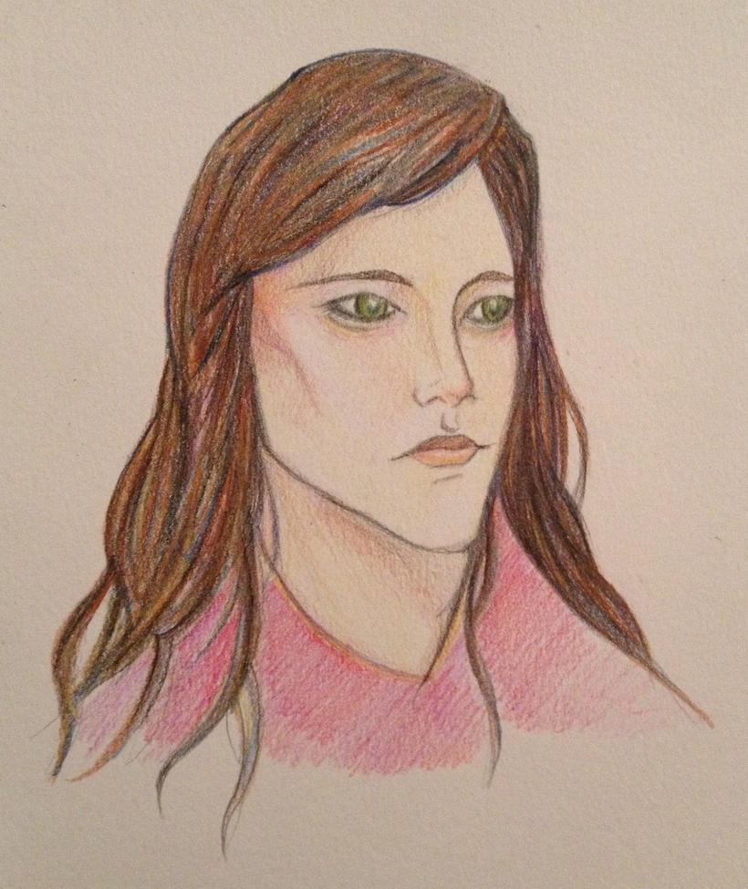 Colored sketch by Doodemoiidesu