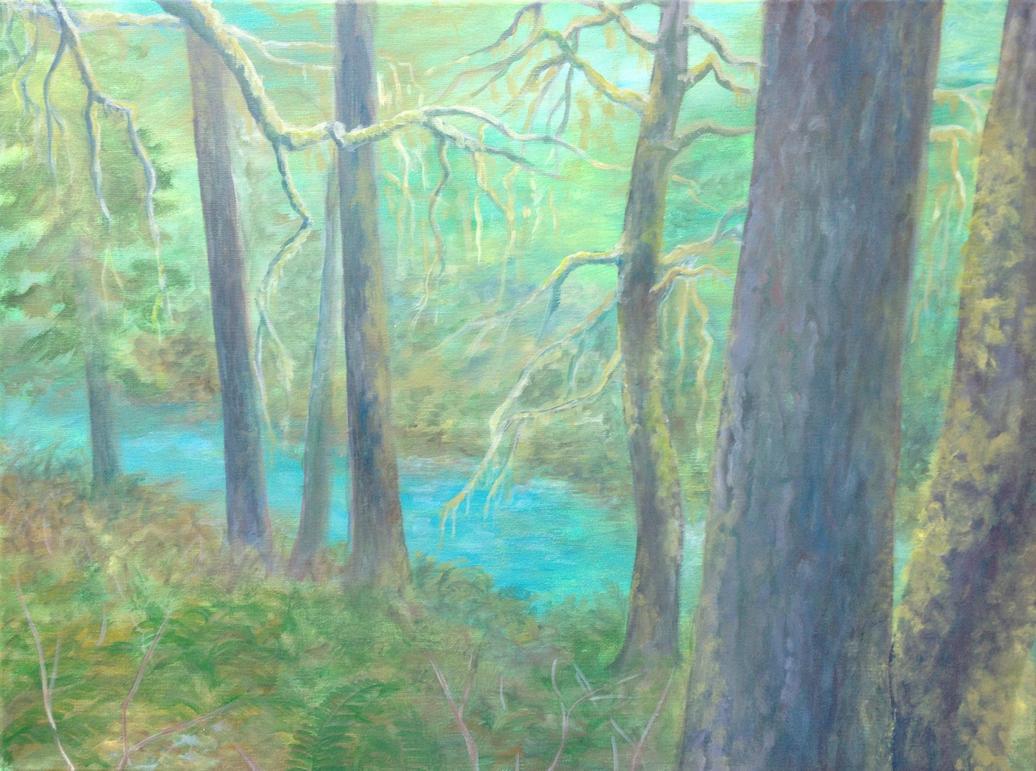 Blue River by Doodemoiidesu