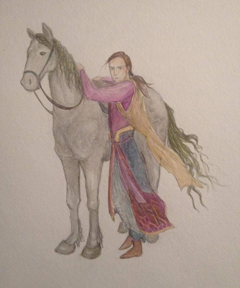 Character Sketch by Doodemoiidesu