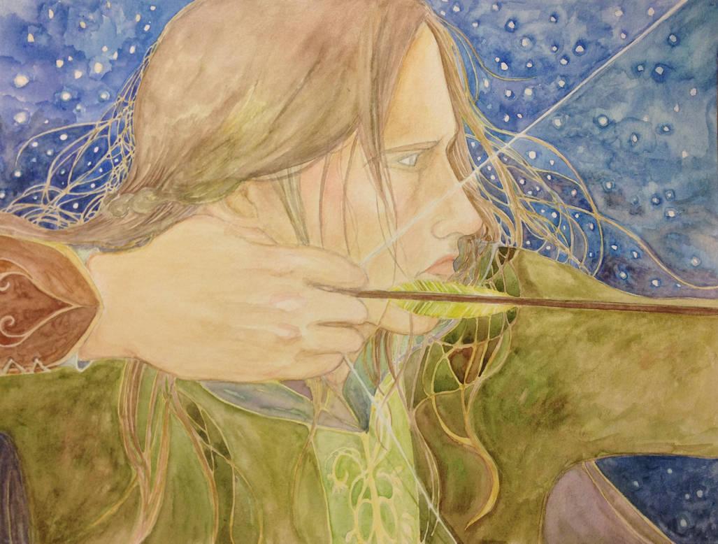 Archer by Doodemoiidesu
