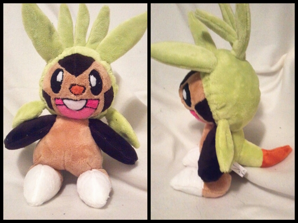 Chespin plush by LRK-Creations