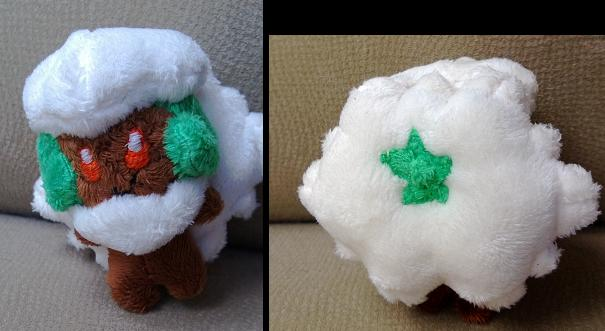 Whimsicott Mini Plush by LRK-Creations
