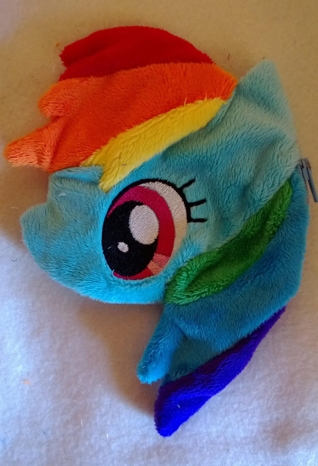 Rainbow dash coin purse for sale by LRK-Creations