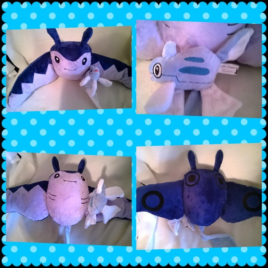 Mantine plush by LRK-Creations