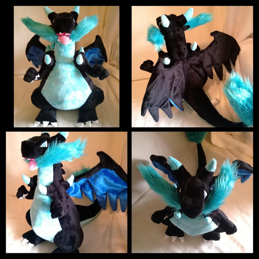 mega charizard x by LRK-Creations