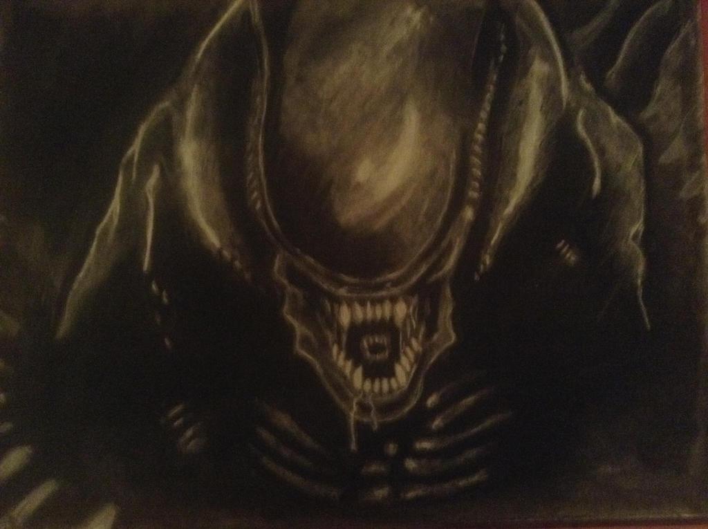 1st Xenomorph by blitzbaby87732