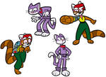 CK and Nin Wah expressions