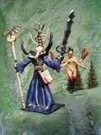 Nagash vs Keeper of Secrets by Antonissen