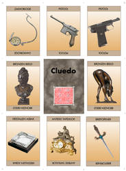 Murder weapon code cards 1 2009 by Antonissen