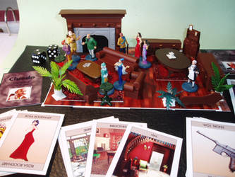 my Cluedo rules (incl 2 player Cluedo) by Antonissen