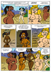Total Drama hunger page 1 by Antonissen