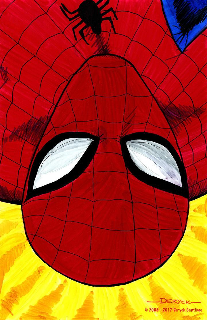 Amazing Spider-Man Portrait by dsantiag