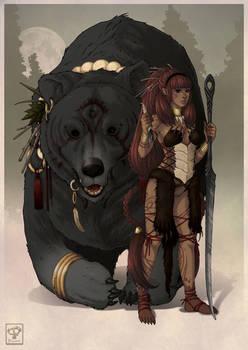 The Old Gods: Bear Girl