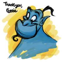 Thank you, Genie by AriellaMay