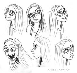 Honey Lemon Sketches by AriellaMay