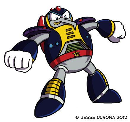 Mega Man X: Chill Penguin by JesseDuRona