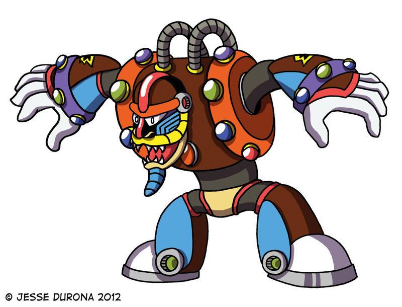 Mega Man X: Spark Mandrill by JesseDuRona