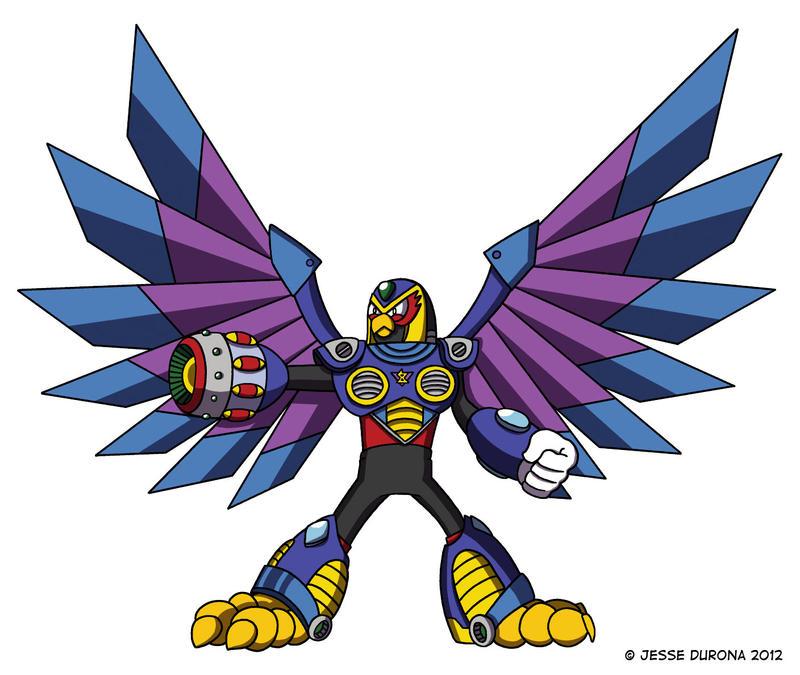 Mega Man X: Storm Eagle by JesseDuRona