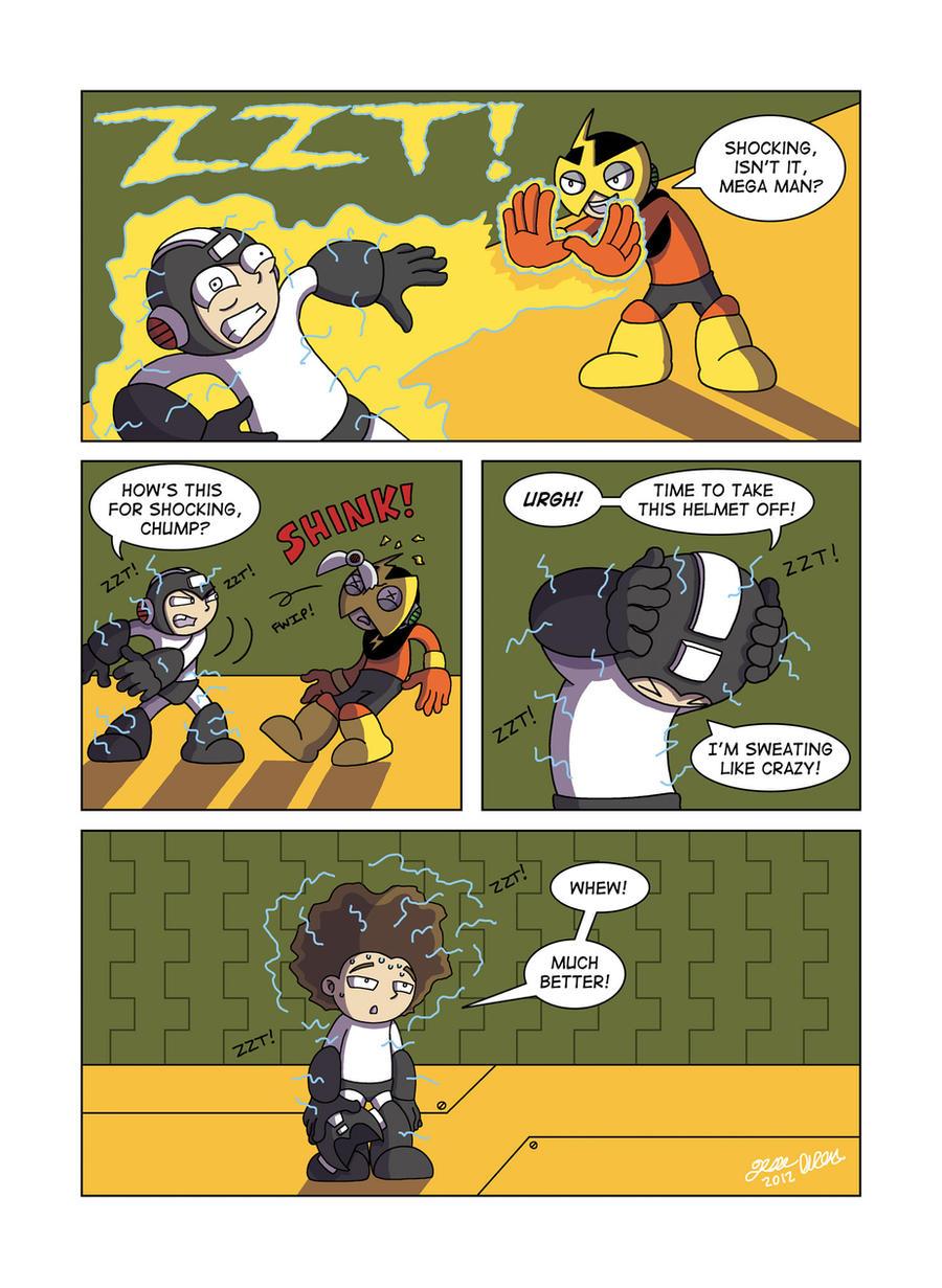 Despondent Mega Man - It's Electric! by JesseDuRona