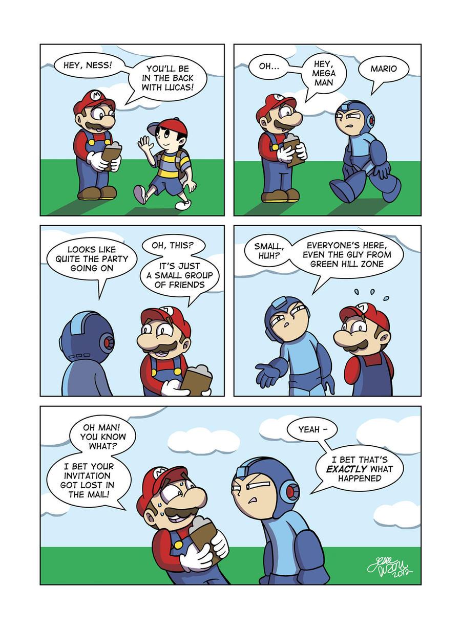 Despondent Mega Man - Stranger In A Strange Land by JesseDuRona