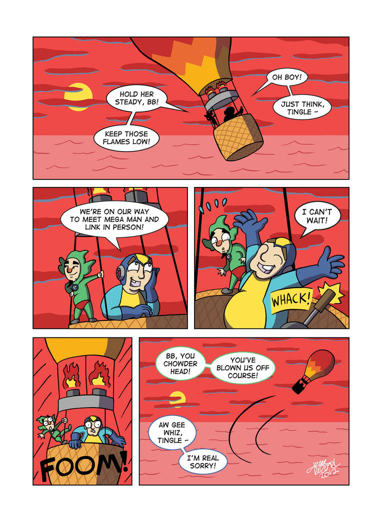The Adventures of Bad Box Art Mega Man And Tingle! by JesseDuRona