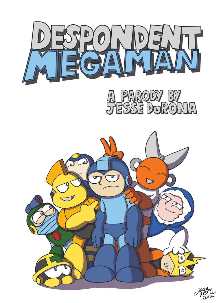 Despondent Mega Man Cover Design by JesseDuRona