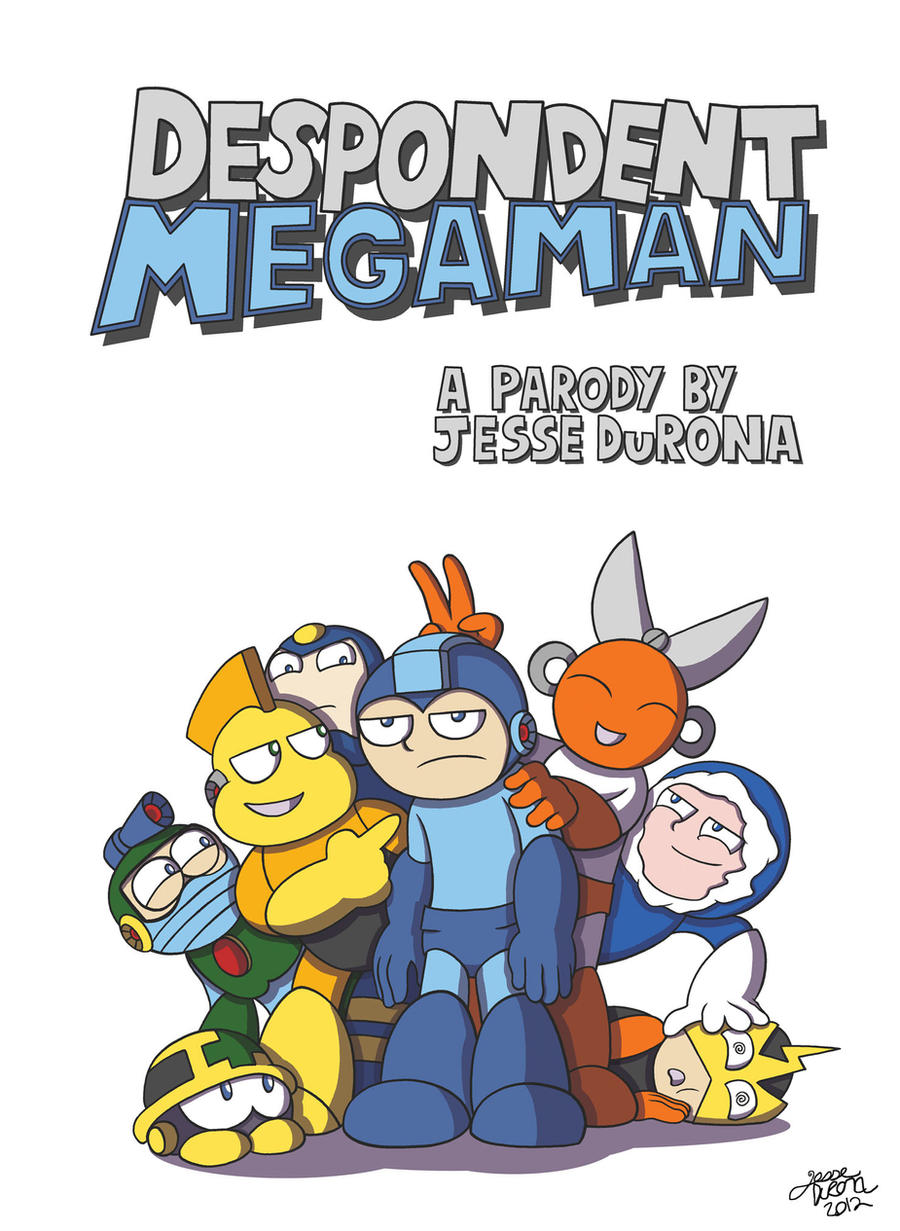 Despondent Mega Man Cover Design by JesseDuRona
