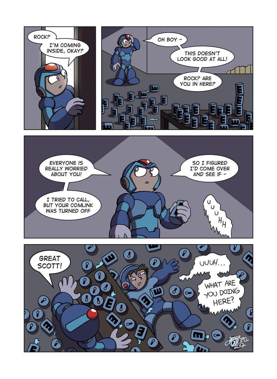 Despondent Mega Man - Bad Days Part 1 by JesseDuRona