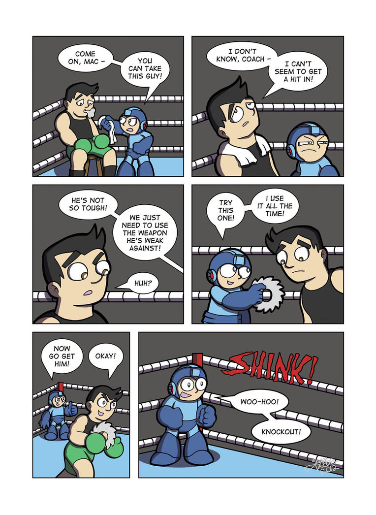 Despondent Mega Man - Bad Days Part 8 by JesseDuRona