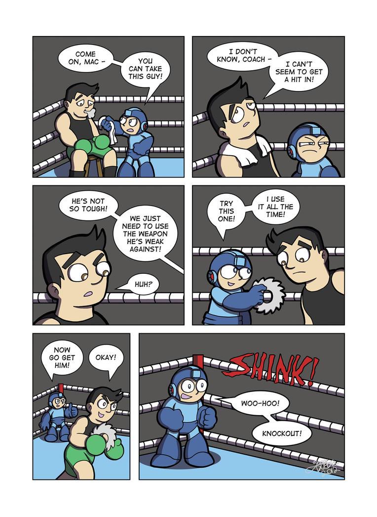 Despondent Mega Man - Bad Days Part 8 by JesseDuRona