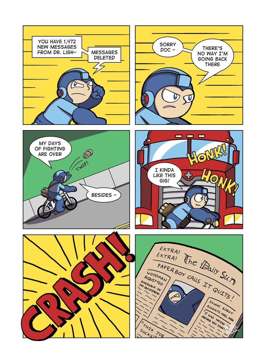 Despondent Mega Man - Bad Days Part 9 by JesseDuRona