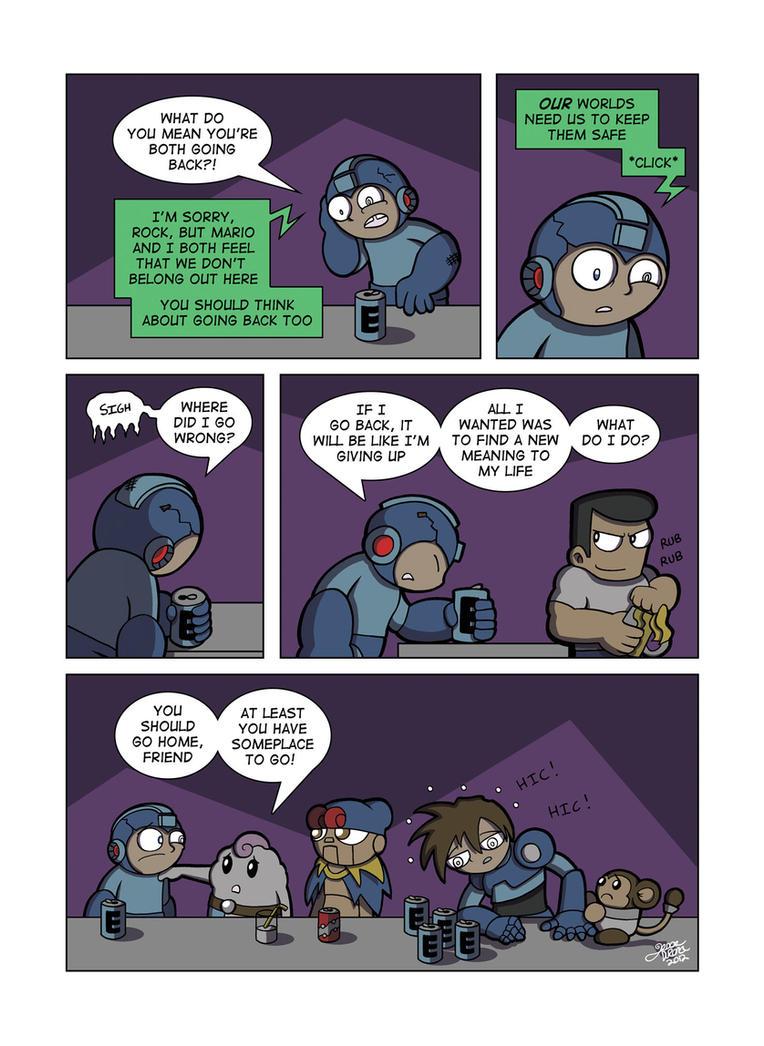 Despondent Mega Man - Bad Days Part 10 by JesseDuRona