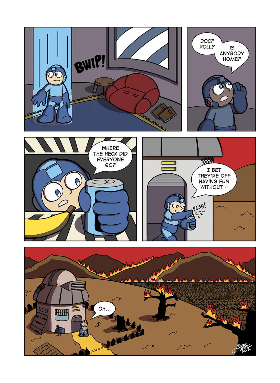 Despondent Mega Man - Bad Days Part 11 by JesseDuRona