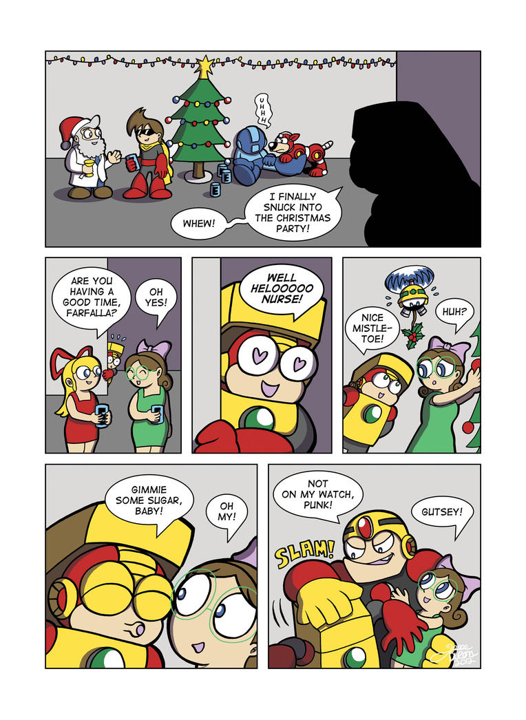 Despondent Mega Man - Mistress For Christmas by JesseDuRona