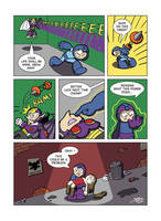 Despondent Mega Man - When Night Comes Down by JesseDuRona