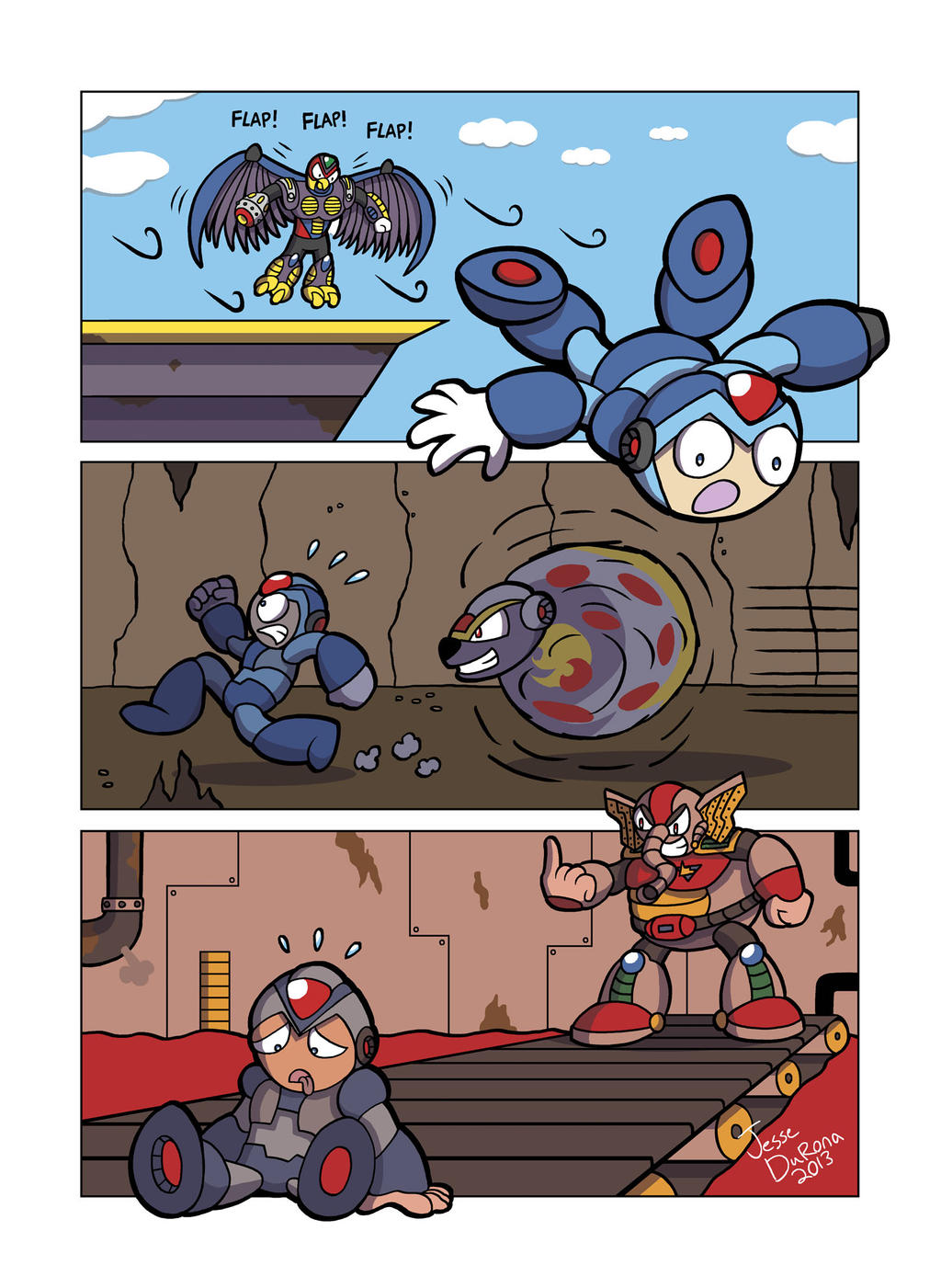 Mega Man X - That Moment When by JesseDuRona