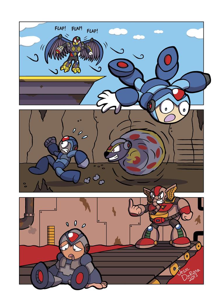 Mega Man X - That Moment When by JesseDuRona
