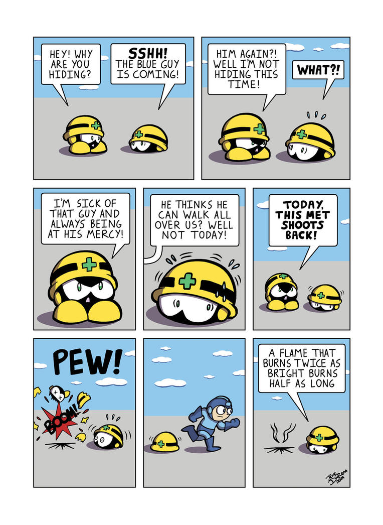 Megaman Cog in the Machine by JesseDuRona