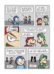 Despondent Mega Man - Island of Misfit Games 3
