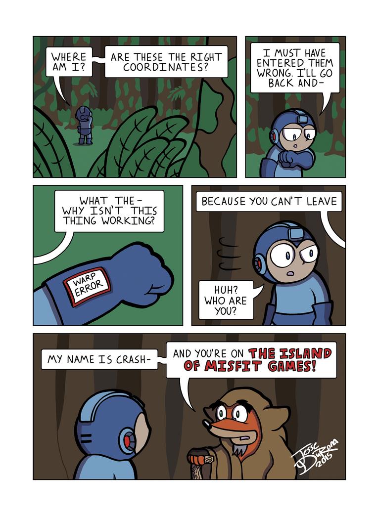 Despondent Mega Man Island of Misfit Game Part 5 by JesseDuRona