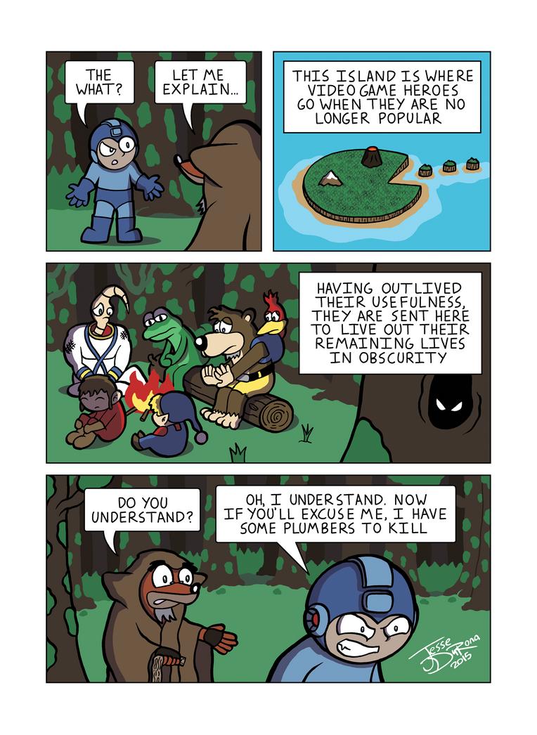 Despondent Mega Man Island of Misfit Game Part 6 by JesseDuRona
