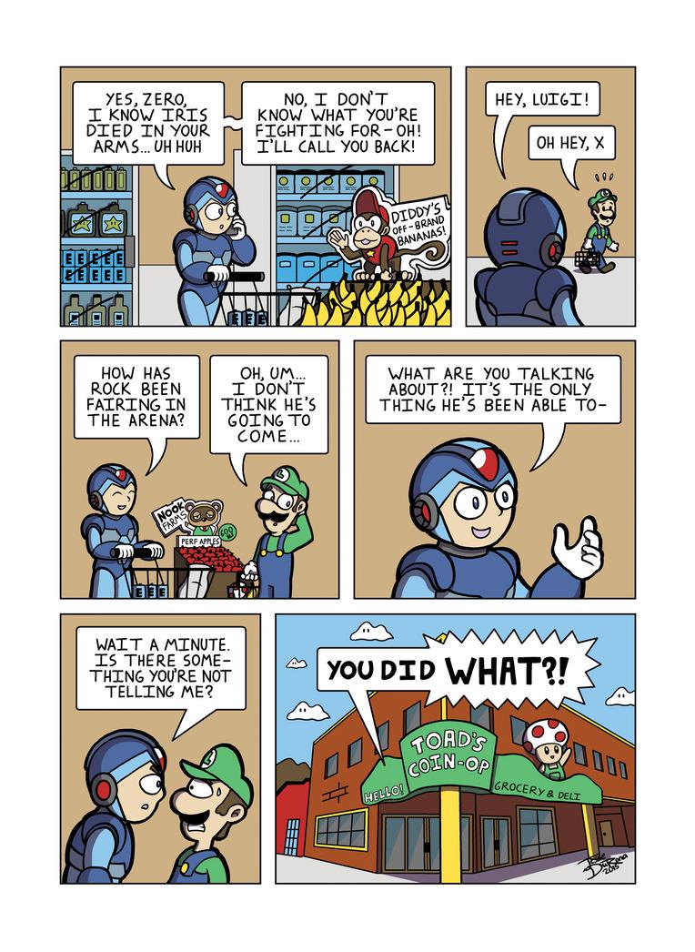 Despondent Mega Man Island of Misfit Games Part 10 by JesseDuRona