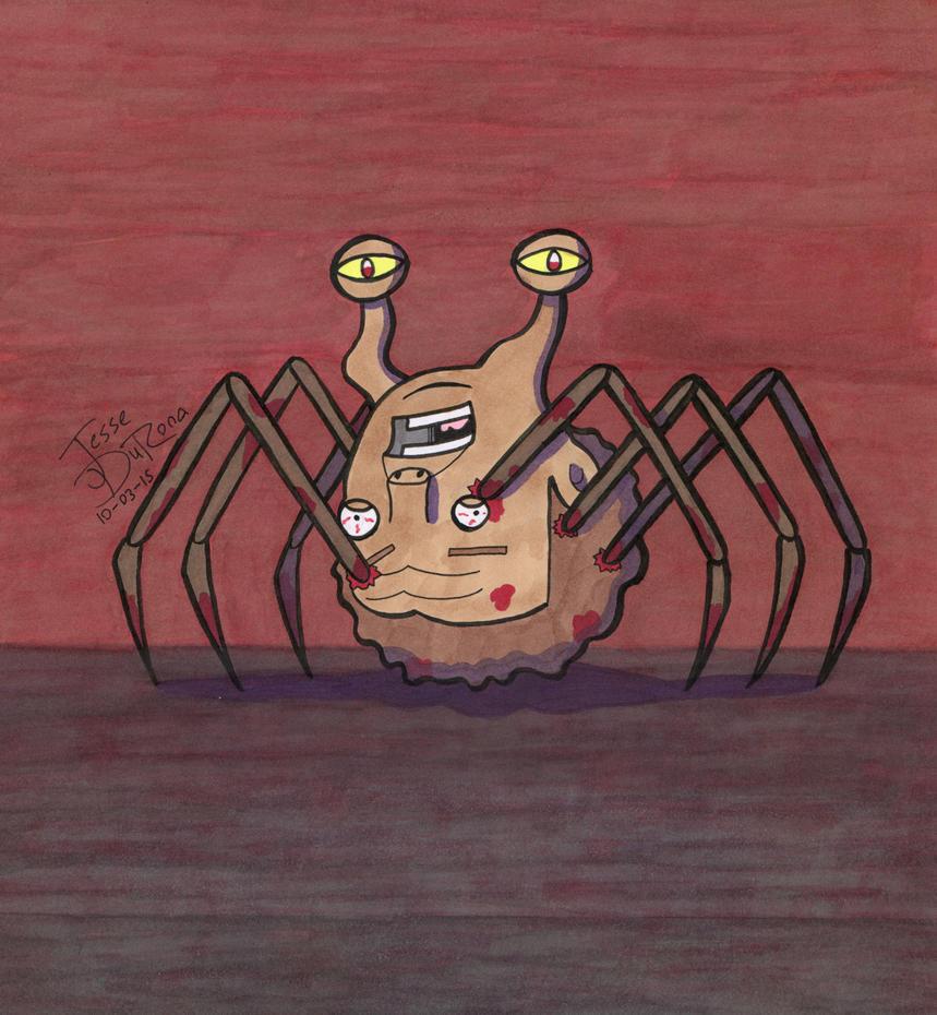 31 Days of Horror #03 - Norris by JesseDuRona