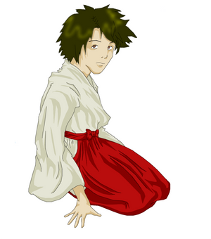 Boy with Kimono revised