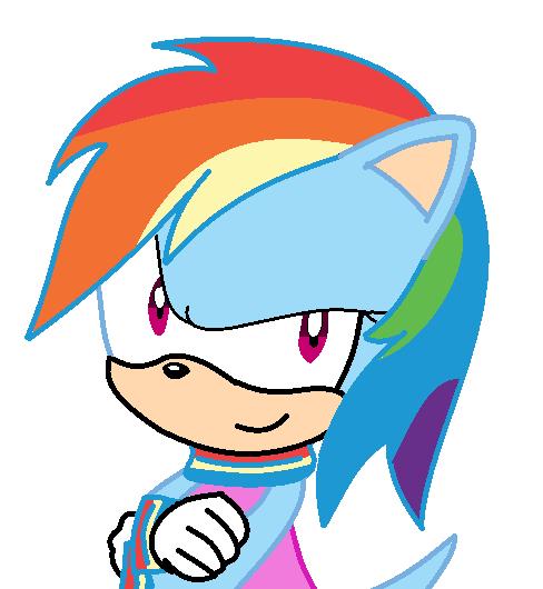 Amy Rose To Rainbow Dash By Coolmlpfangirl450 On DeviantArt